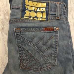 7 For All Mankind | Bootcut Seven Vintage …